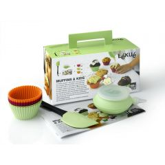 Lekue 3000000 Kit Muffins & Kids