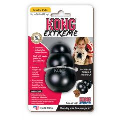 Kong toy small zwart
