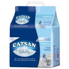 Catsan kattenbakvulling hygiene plus 20l