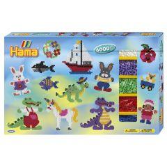 Hama grote box met 6000 parels