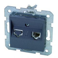 Stopcontact Tel Rj11 Karre Grafiet