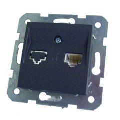 Stopcontact Utp Cat5  Karre Grafiet