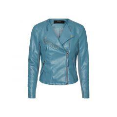 Vero Moda 1812 Vmria Fav Short Faux Leather Jacket Yarrow Xs