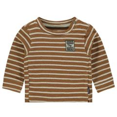 Noppies Z19 B Sweater Ls Parkvin Y/D Str Washed Wood 50