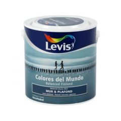 Levis Colores del Mundo Mur & Plafond Balanced Glacier Mat 2,5L