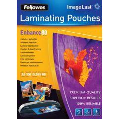 Fellowes Lamineerhoezen A4 80Mic 100Pk