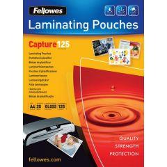 Fellowes Lamineerhoezen A4 125Mic 25Pk