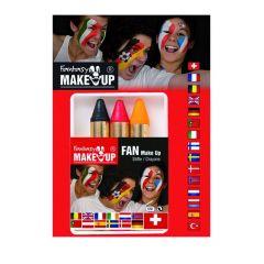 Sticks Zwart/Geel/Rood