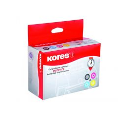 Kores Compatibel Inkjet Bonus Pack For Epson T0611/612/613/614