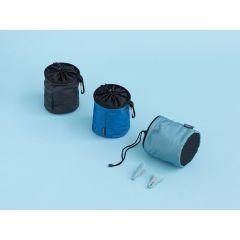 Wasknijpertasje Premium Zwart/Blauw/Mint