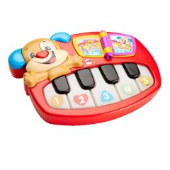 FISHER PRICE LAUGH & LEARN LEERPLEZIER PUPPY PIANO