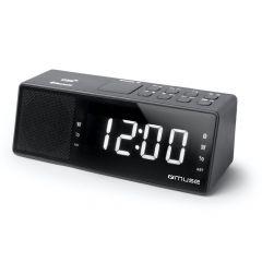 Muse M172Bt Clock Bluetooth Dual Alarm Usb