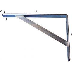 Plankdragers Hoekig Verzinkt 400X250Mm