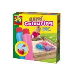 Ses Zand Kleuren Blauw-Roze