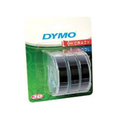 Dymo Junior Zwart 3 Rol 9Mm