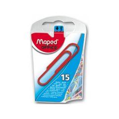 Maped Jumbo Paperclips Gekleurd 15 Stuks