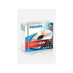 Philips Dvd+Rw 4.7Gb 4X Jc 5St