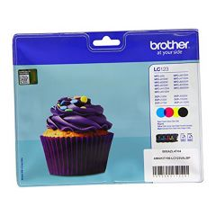 Brother Lc123 Value Pack Bkcmy