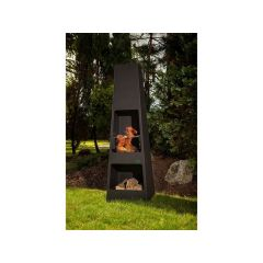 Malmo Haard/Barbecue 44.5X39Xh148Cm Plaatstaal