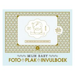 Mijn Baby Foto-Plak-Invulboek