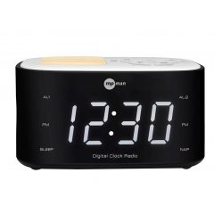 Mpman Fral501 Clock Radio With Built In Lamp