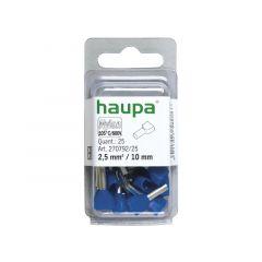 Huls 2X2,5 / 18,5Mm Blauw