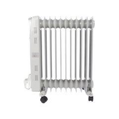 Oliebadradiator - 2500 W - 11 Ribben