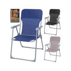Vouwstoel De Luxe 3 Assortie Kleuren 55X60X85Cm