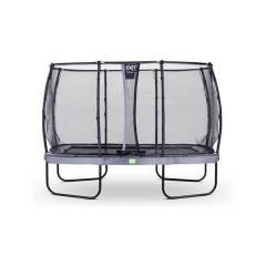 Exit Elegant Trampoline Rect. 244X427Cm + Safetynet Deluxe Grey