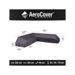 Aerocover Lounge Platform Hoes 325X255X90Xh30/45/70Cm Links