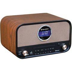 Roadstar Hra 1782 D-Bt Vintage Wood Radio+Cd Dab Tuner