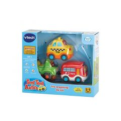 VTECH TOET TOET AUTOS - TRIO PACK CITY