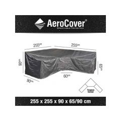 Aerocover Lounge Dining Set Hoge Rug 255X255X90Xh65/90Cm