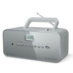 Muse M 28 Lg Boombox Cd Player Pll Tuner Usb Light