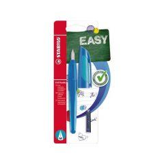 Stabilo Easy Buddy Blister 1 Vulpen Dark Blue/Light Blue + 2 Cartridges
