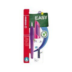 Stabilo Easy Buddy Blister 1 Vulpen Purple/Magenta + 2 Cartridges