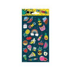 Twinkle Stickers Sheets 10.2X20Cm Twinkle Sheet Annanas