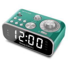 Muse M 18 Crg Vintage Clock Radio Green Finish