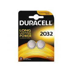 Duracell Dl2032 3V Lithium 2 St Op Bl