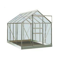 Serre Intro Grow - Ivy - 5,0M² Aluminium Poly 4Mm - 1,93M X 2,57M X H1,21M/1,95M
