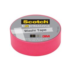 Scotch Expressions Tape Refill Roze 15Mmx10Mm