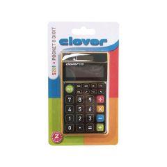 Clover 5201 Pocket Color 8 Digit
