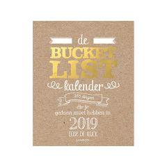 Bucketlist Scheurkalender 2019