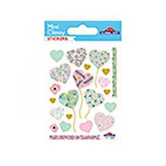 Sticker 111 003 Hartjes Pastel