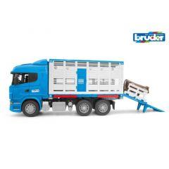 Bruder 03549 Scania R Catle Transportation