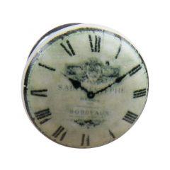 4 Knoppen Ceram.Horloge Grijse