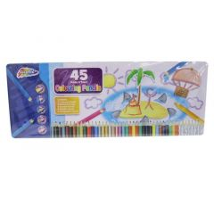 Grafix T45P Tin 45 Coloured Pencils