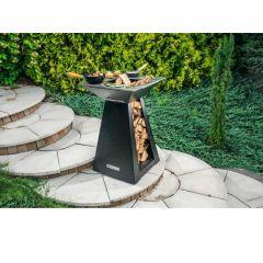 Quan Garden Art Quadro Basic Line Small 60X60Cm H90Cm Carbon Zwart
