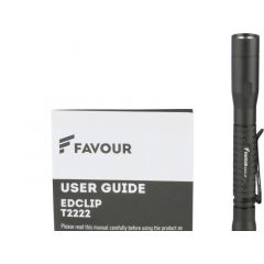 Favour Headheld Penlight 250Lm 2Xaaa Incl