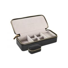 Stacker Black Large & Petite Travel Box
